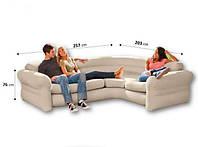 Надувной угловой диван 68575 INTEX