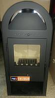Топка буржуйка печь с окошком на дровах 5KW