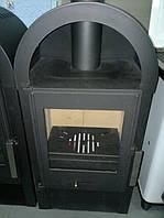 Камин буржуйка печь с окошком на дровах 7KW