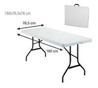 Банкетный стол до 100кг! складной чемодан 180х76см