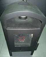 Буржуйка печь с окошком на дровах Wamsler 8KW