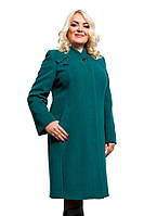Элегантное женское кашемировое пальто больших размеров (рр 50-58), разные цвета