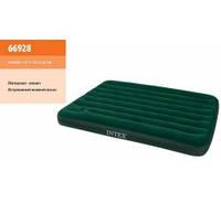 Полуторная кровать-матрас Intex Twin 66928 со встроенным ножным насосом Twin Wave Beam Airbed