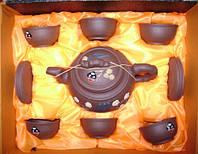 Набор глиняной посуды для чайных церемоний