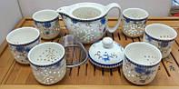 Набор для чайной церемонии из фарфора на 6 персон