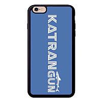 Чехол на iPhone с логотипом KatranGun