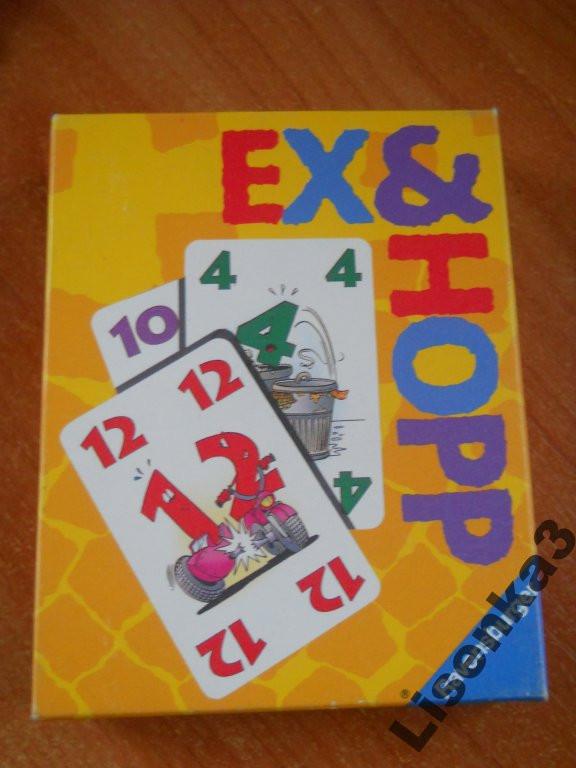 Ex&Hopp карточная игра для подростков