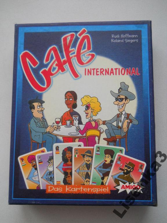 Международное кафе - замечательная карточная игра
