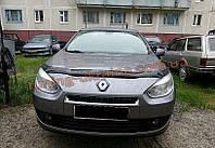 Дефлекторы капота Sim для Renault Fluence седан 2009-12