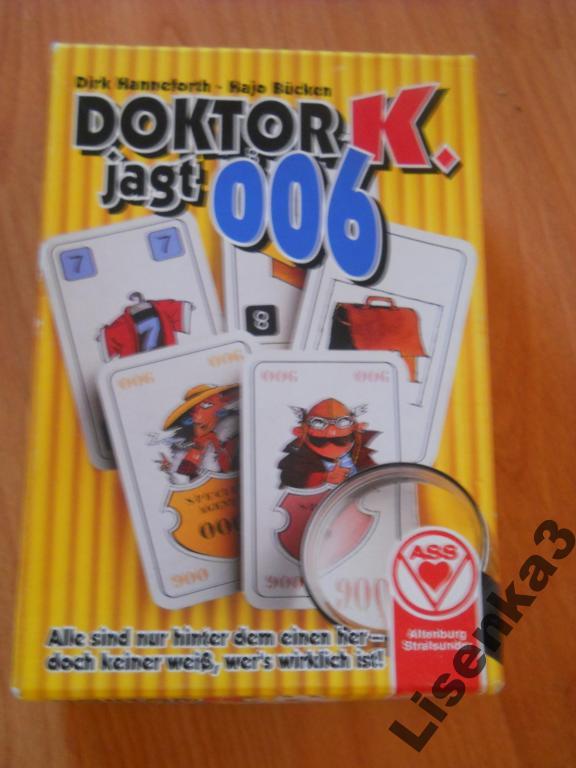 Доктор К  - карточная игра