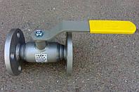 Кран шаровый фланцевый стальной полнопроходной LD Ду 40 Ру40