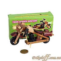 Сувенир «Мотоцикл из дерева», маленький