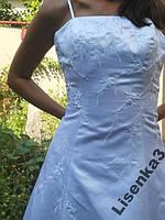 Свадебное платье на стройную девушку+подарок
