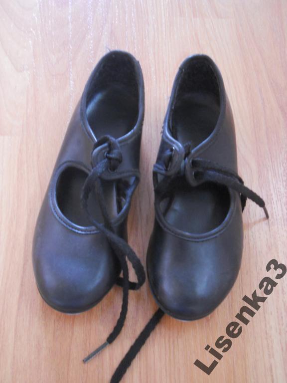 Туфли танцевальные на 3-4 года