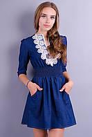 Шелби. Стильное джинсовое платье. Джинс., фото 1