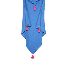 Плед с капюшоном La Millou Blanket - Denim, 100% Bamboo