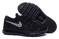 Женские Кроссовки Nike Air Max Flyknit All Black 3
