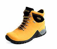 Ботинки Natural Fanco yellow black АКЦИЯ -40%