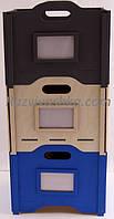 Деревянный ящик для хранения игрушек ( окрашенный) 370 на 300 мм