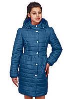 Плащ пальто Ариль демисезонное для девочки на рост 146,  ТМ  NUI VERY
