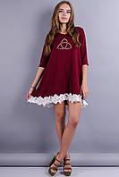 Айви. Красивое платье. Бордо, фото 1