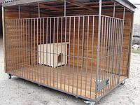 Вольер для собаки разборный (6 м.кв), 3х2х1,9 м