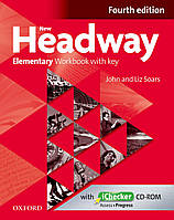New Headway 4th Ed Elementary: WB with Key & iChecker CD Pack