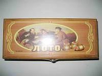 """Игра настольная """"Лото"""", в деревянной коробке"""
