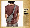 Мужская сумка рюкзак Flash grey