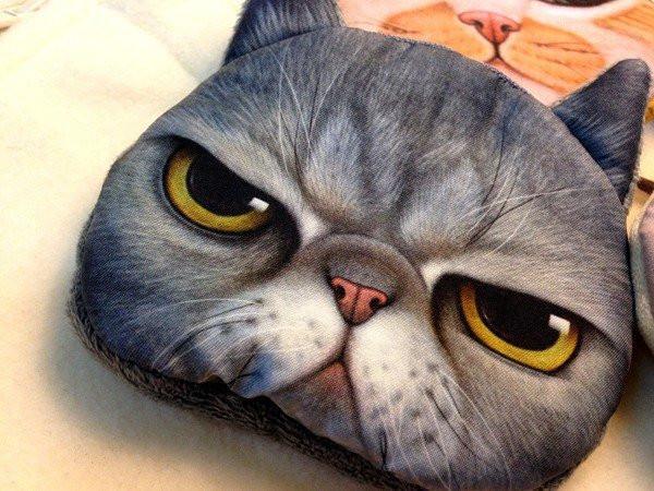 Кошелек Милый кот 076