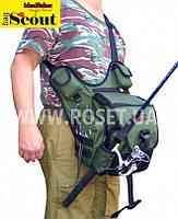 """Сумка для ходовой рыбалки с держателем удилища - СКАУТ S55cout 1.0 """"Свободные руки"""""""