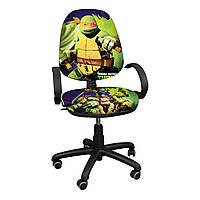 """Детское компьютерное кресло Поло """"Ниндзя черепашки-1"""""""