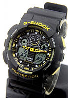 Часы Casio G-Shock black-yellow качество
