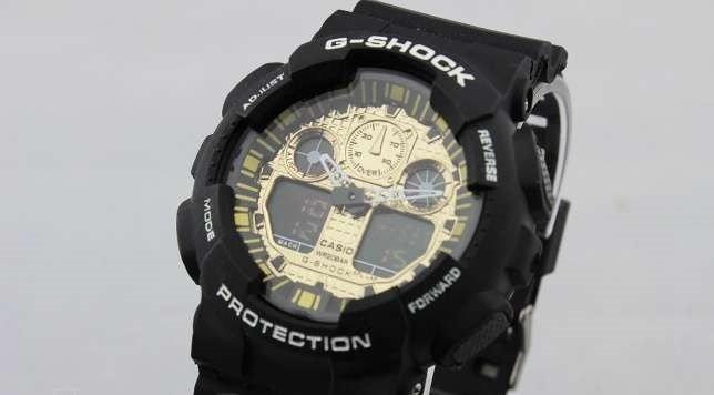 Часы Casio G-Shock black - gold качество