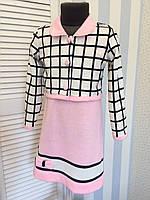 """Платье с пиджаком """"Эльвира""""2, размеры 104 - 146 см"""