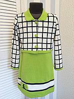 """Платье с пиджаком """"Эльвира""""4, размеры 104 - 146 см"""