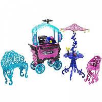 Передвижное кафе Скариж - Город Страха Monster High Scaris - City of Frights Cafe Cart