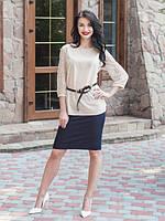 Эфектная молодежная блуза, фото 1