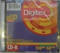 Диск CD R  Axent 700Mb 8106