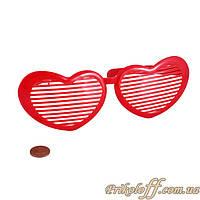 Очки жалюзи «Сердце», гигант