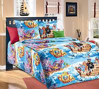 Набор детского постельного белья в кроватку и подростковый Пираты