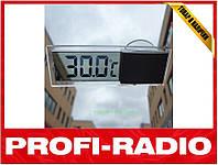 Термометр автомобильный с прозрачным дисплеем