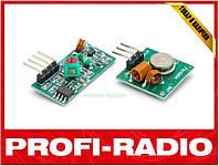 Радиомодуль 433 Мгц RX/TX передатчик и приемник