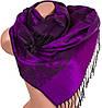 Женский ультрамодный двусторонний палантин из пашмины 184 на 70 см ETERNO ES2707-5-9 фиолетовый