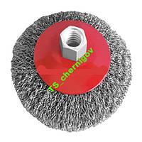 Щетка конусная 115 мм, для УШМ, М14