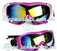 Маска горнолыжная/лыжные очки Spyder Pro с двойным стеклом: фиолетовая (Violet)