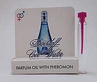 Масляные духи с феромонами Davidoff Cool Water woman 5 ml