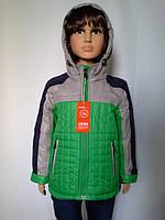 Удлиненная куртка для мальчиков,примерно 4-8 лет.