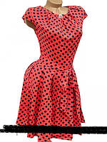 Модное женское платье в горох р. 44, 46