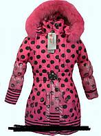 Пальто для девочек, примерно 5-10 лет.
